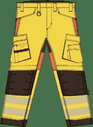 Pantalón de trabajo – Clase 2