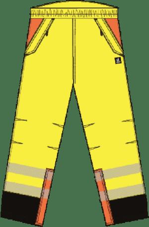 Pantalon Impermeable de trabajo Básicos – Clase 2