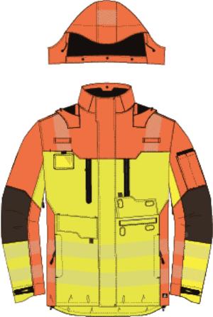 Chaqueta All Weather – Clase 2